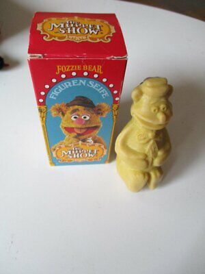 The Muppet Show Fozzie Bear Seife Figur 10 cm OVP 1978