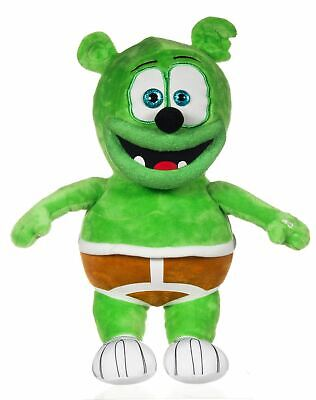 """11"""" Gummy Bear Plush With Sound Musical Cuddly Soft Doll Toy Kids Novelty Gift"""