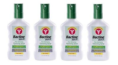 Bayer Bactine Max Pain Relieving Cleansing Spray 4 Bottle Pack
