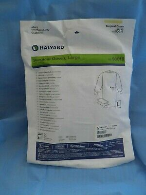 Halyard Surgical Gown Kit Disposable Large with towels Doctor Surgeon ref: 90016