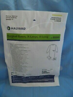Halyard Surgical Gown Kit Disposable XL, X Long with towels ref: 90049