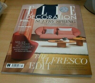 Elle Decoration magazine #321 MAY 2019 Sultry Spring, Transform your Outdoor Spa