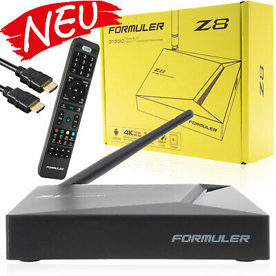 Formuler Z8 4K UHD HDR Android 7 TV Box Media Player H.265 HEVC Dual WLAN