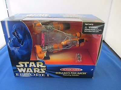 Star Wars Episode I Action Fleet Sebulba's Pod Racer- Micro Machines 1998 NEW
