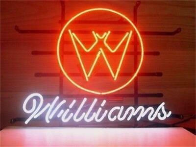 Williams Real Glass Beer Club night club ktv Poster Party Decor Neon Sign Light