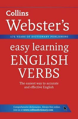 English Verbs (Collins Webster's Easy Learning), Collins Dictionaries, New Book