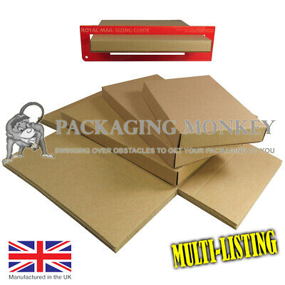 Royal Mail Large Letter Pip Cardboard Postal Mail Boxes *All Sizes C4 C5 C6 Dl*