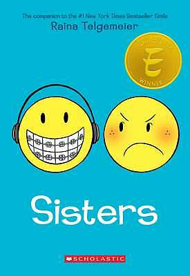 Sisters, Telgemeier, Raina, New Book