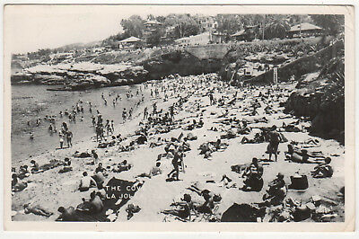 1948 LA JOLLA CALIFORNIA RPPC RP Real Photo Postcard COVE San Diego CALI CA
