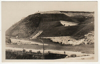 FORT KNOX Lunch MAINE RPPC RP Real Photo Postcard PROSPECT Penobscot River