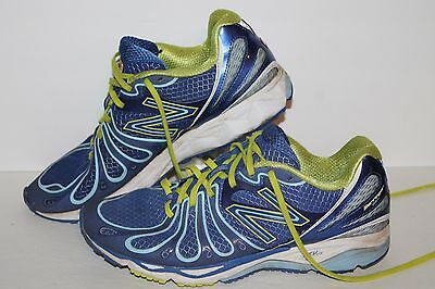 NEW BALANCE 890V3 Barringer Running Shoes, #W890BG3, RoyalLimeNav,Women's US 9