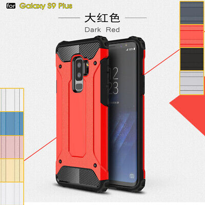 Hybrid Armor Shockproof Rugged Bumper Case For Samsung Galaxy S9 S8+ S7 S6 Edge