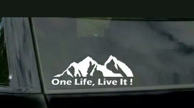 2 X One Life Live It Stickers Camel Camel Trophy 4x4 Off