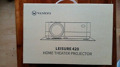 Vankyo Leisure 420 Full Hd Projector With 3000 Lux, Mini Home Cinema Video New