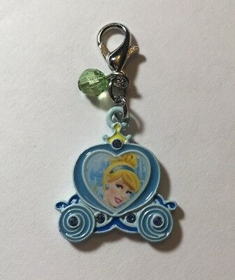 Disney Parks Charmed In The Park - Cinderella Portrait Carriage Charm