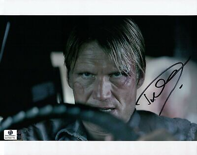 Dolph Lundgren Hand Signed Autographed 8x10 Photo Rocky Expendables GA 758770