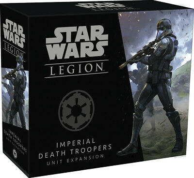 Star Wars Legion Miniatures game: Imperial Death Troopers Unit Expansion SWL34