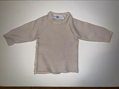 Baby Infant Frilo Swiss Made Designer Infant Sweater 0-3 Months Gently Used