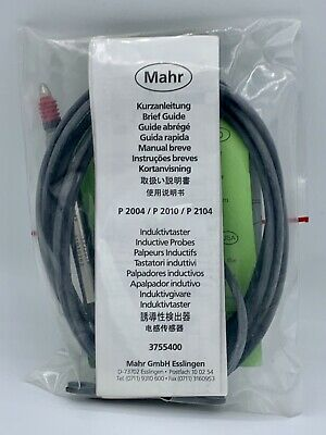 NEW - Mahr 5323014 Inductive Probe Millimar P2004-F 2mm - SHIPS FREE!!