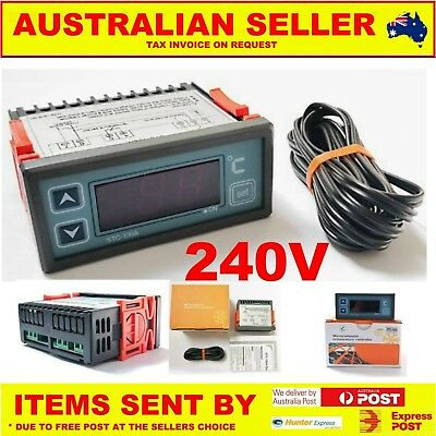 Refrigeration Temperature Controller 30A 240v THERMOSTAT DIGITAL LED AUSSIE wow