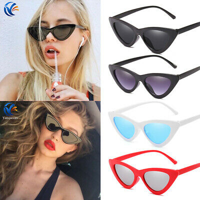Women Retro Cat Eye Sunglasses Classic Designer Vintage Fashion Shades Eyewear