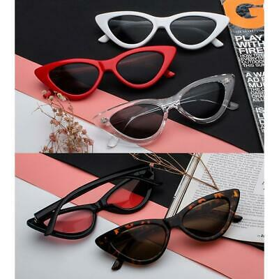 Women Cat Eye Sunglasses Retro Vintage Classic Designer Fashion Shades Eyewear