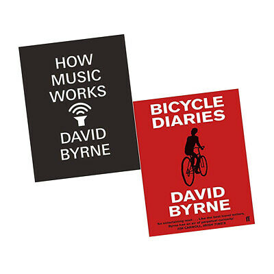 David Byrne Collection 2 Books Set How Music Works,Bicycle Diaries Brand New PB