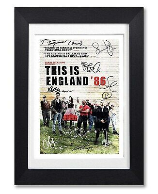 This Is England 86 Cast Signed Poster Series Season Print Photo Autograph Gift