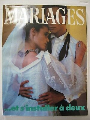 MARIAGES Mai-Juin 1984 – French Bridal magazine