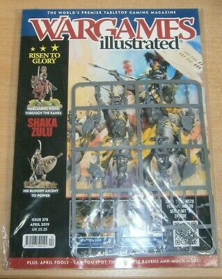 Wargames Illustrated magazine #378 2019 Shaka Zulu His bloody ascent to power