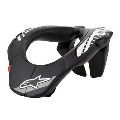 ALPINESTARS Youth Neck Support Brace Kinder 2019 schwarz weiss Motocross Enduro
