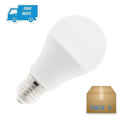 Pack 5 Bombilla Led E27 15W