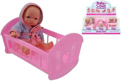 New Baby Doll With Accessories Girls Pink Pretend Play Fun Toy New Born Kids