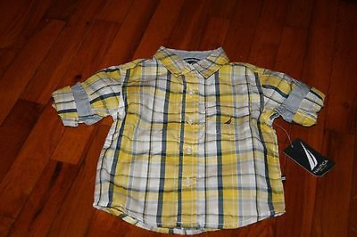 Nautica 18 month boys dress shirt NWT    MSRP $34.50