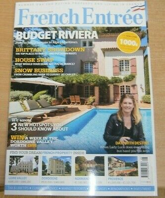 French Entree magazine #128 Spring 2019 Budget Riviera + House Swap & HotSpots