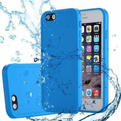 For iPhone X7 6s 6 8 Plus Waterproof Shockproof Hybrid TPU Phone Case Full Cover