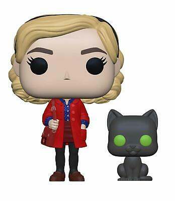 Funko 38866 Pop! & Buddy: Chilling Adventuressabrina with Salem, Multicolor