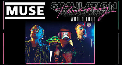 Muse Concert Montreal, Centre Bell, Section: Club 217 Row: C Qty: 2