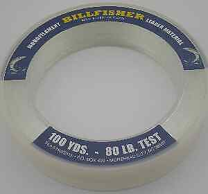 Sea Striker LC100-100 Billfisher Clear Monofilament Leader Coil 100Lb Test 11468
