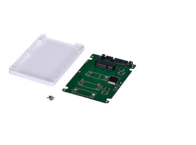 mSATA Adapter SSD To 2.5 inch SATA3 Converter With Case Windows Linux Mac