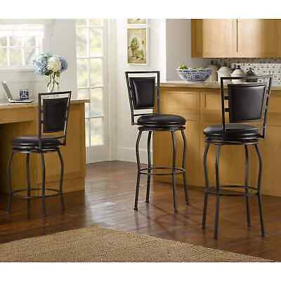 Pleasant Dakota Brown Antique Adjustable Swivel Bar Stools Set Of 2 Pabps2019 Chair Design Images Pabps2019Com