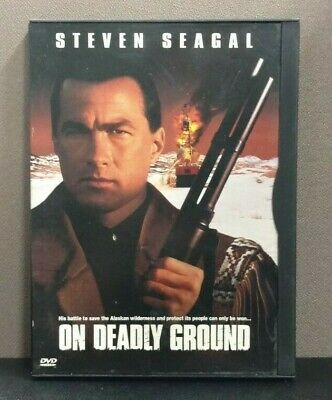 On Deadly Ground    (DVD)     Snap case      LIKE NEW