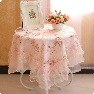 Newest Table Cloth Square Coffee Table Fabric Bedside Tablecloths Home Art S