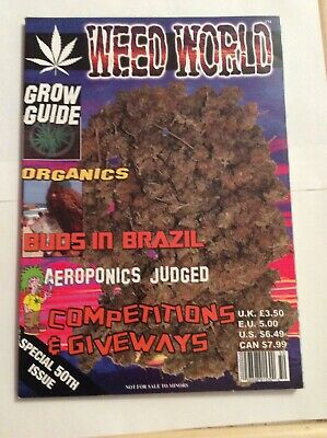 WEED WORLD  SPECIAL 50th ISSUE MAGAZINE   cannabis marijuana