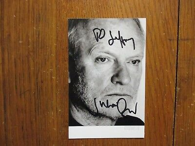 "JULIAN  GLOVER (""Game  Of Thrones/James  Bond"")Signed 3 x 5 Black & White  Photo"