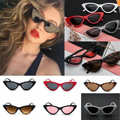 Women Cat Eye Triangle Sunglasses Retro Classic Vintage Fashion Shades Eyewear