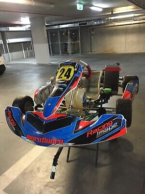 Tony Kart and tralier for sale