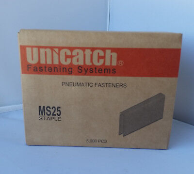 "M13-1"" Galvanized Staples For Senco By Unicatch 5000/Box"