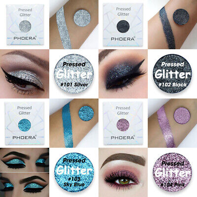 Makeup Cosmetic Shimmer Matte Pressed Glitter Eyeshadow Palette 36 Colors