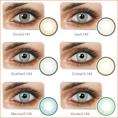 1 Pair Big Eye Makeup Charm Colored Contact Lenses Unisex Cosmetic Tool Gracioso